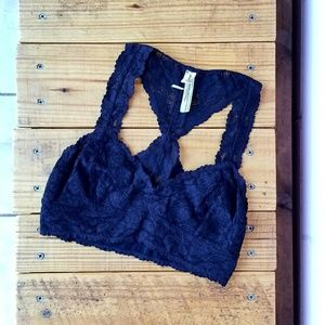 free people • galloon lace bralette